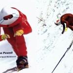 В среднем сноубордисты движутся со